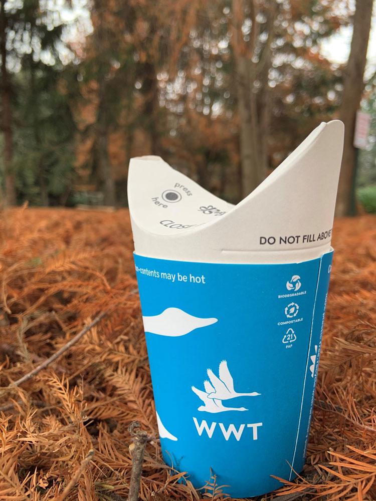 Дизайн нового одноразового бумажного стаканчика ButterflyCup может спасти мир