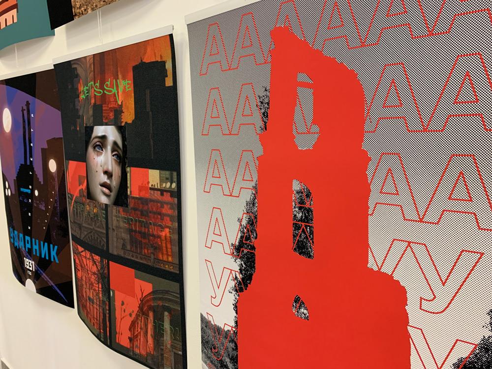 """Плакаты проекта """"Хрупкое Достояние Человечества"""""""
