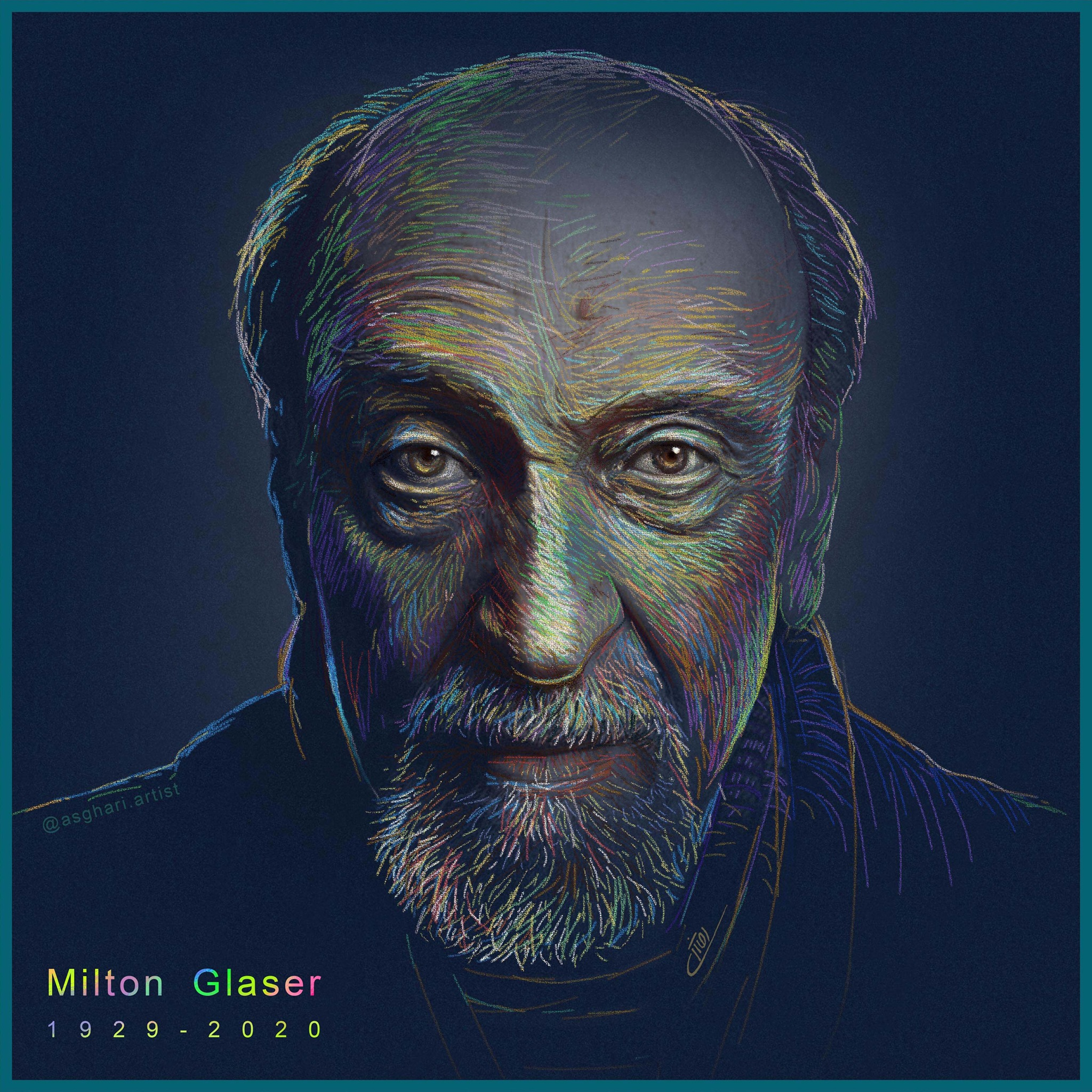 Kheyrollah Asghari - Дизайнеры всего мира вспоминают Милтона Гейзера
