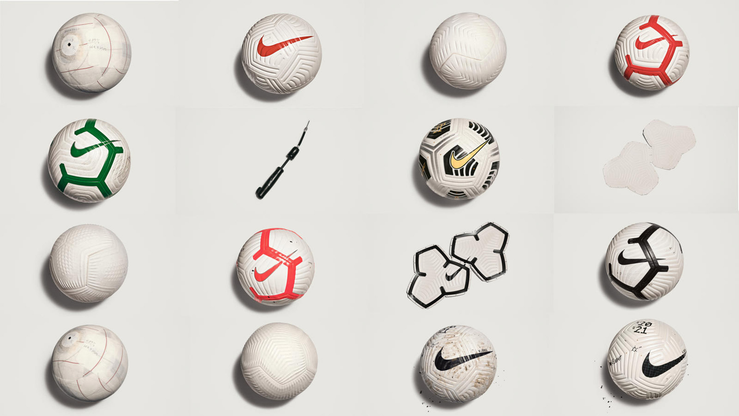 Дизайн мяча Nike