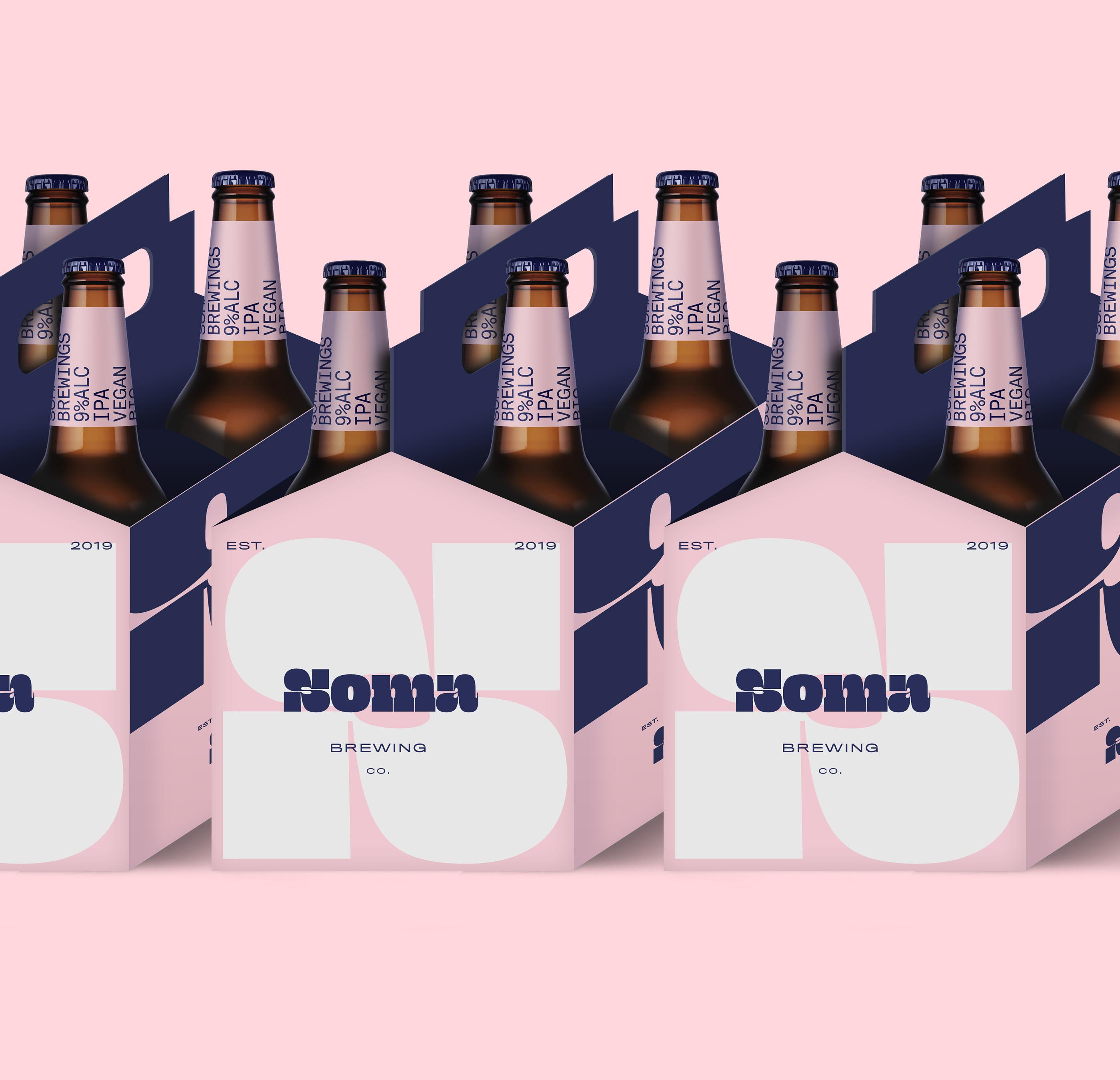 Айдентика и упаковка пива