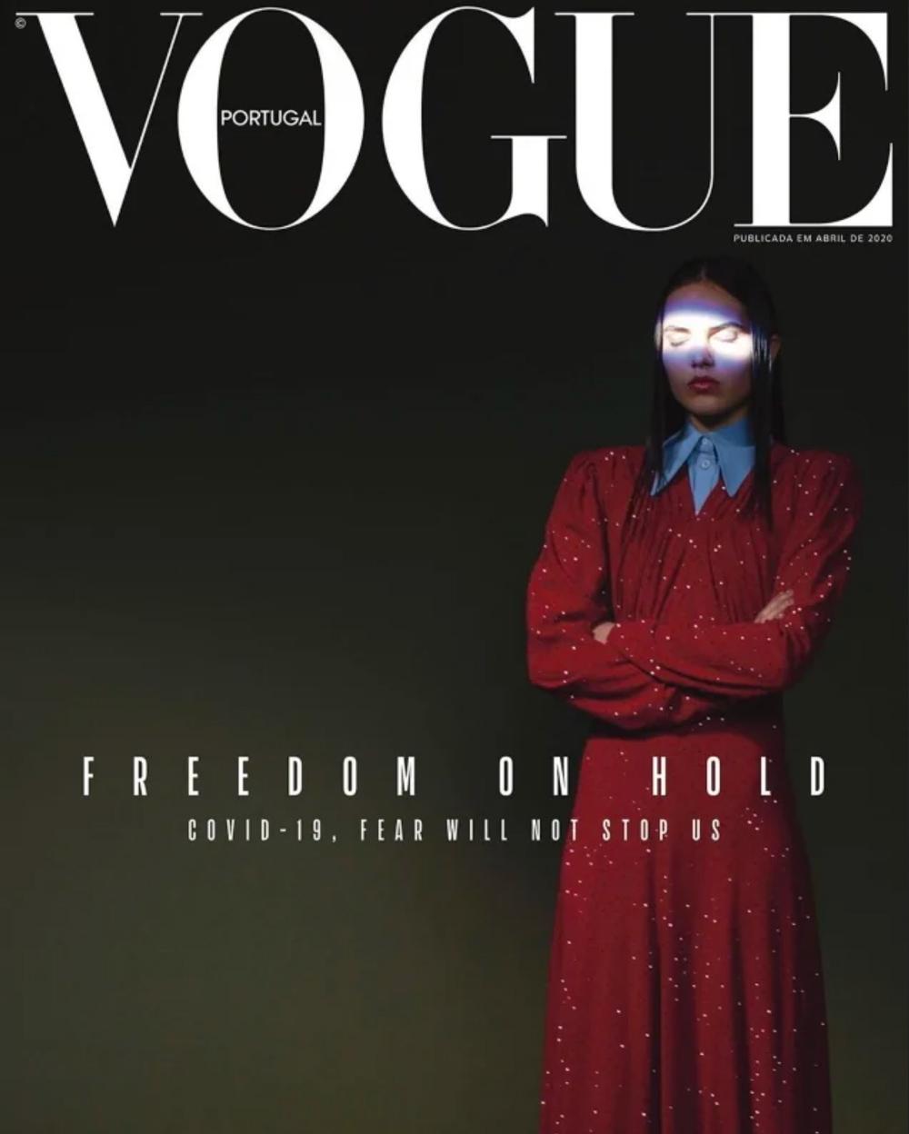 Vogue Portugal обложка за апрель 2020