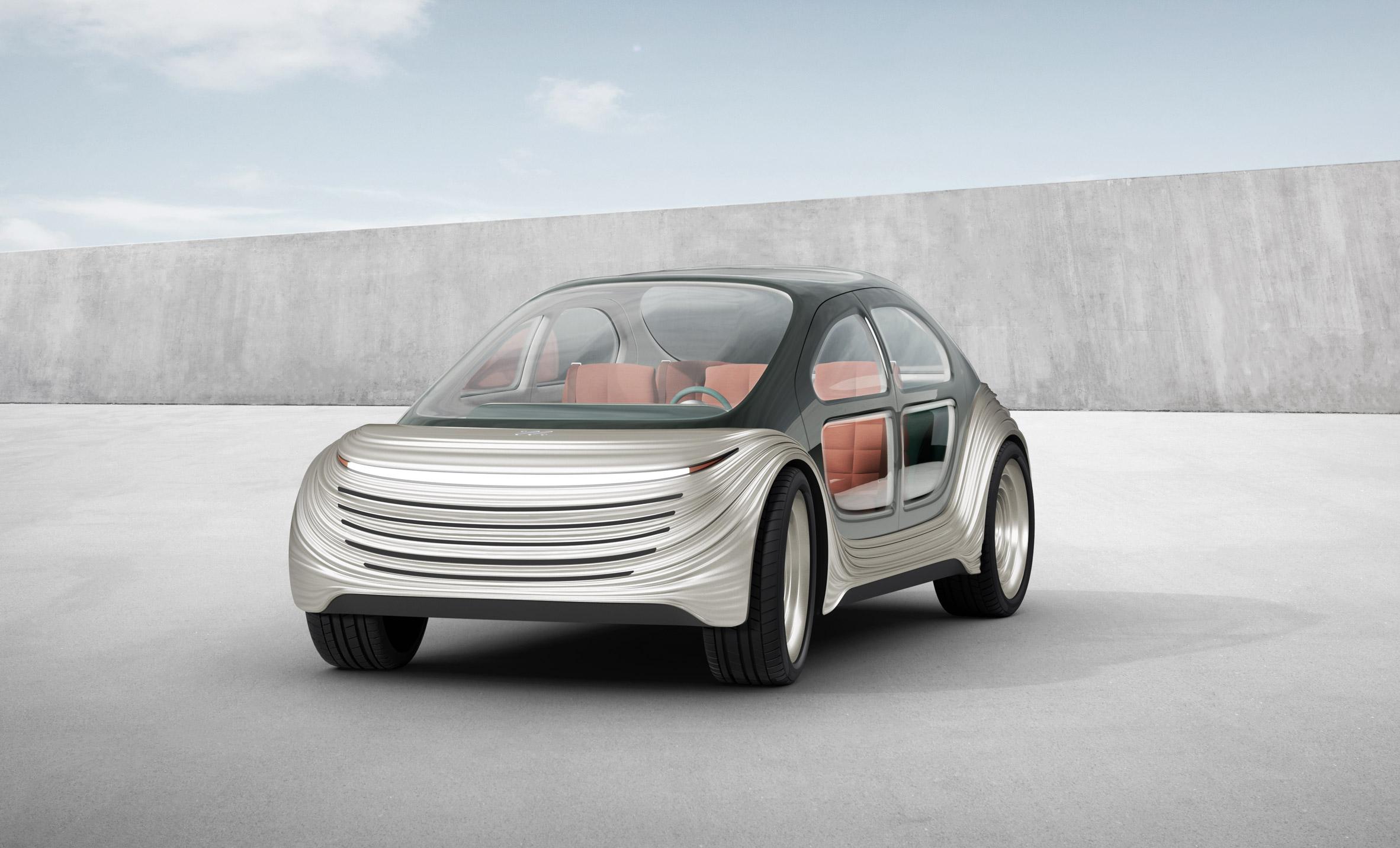 Airo автомобиль который чистит воздух