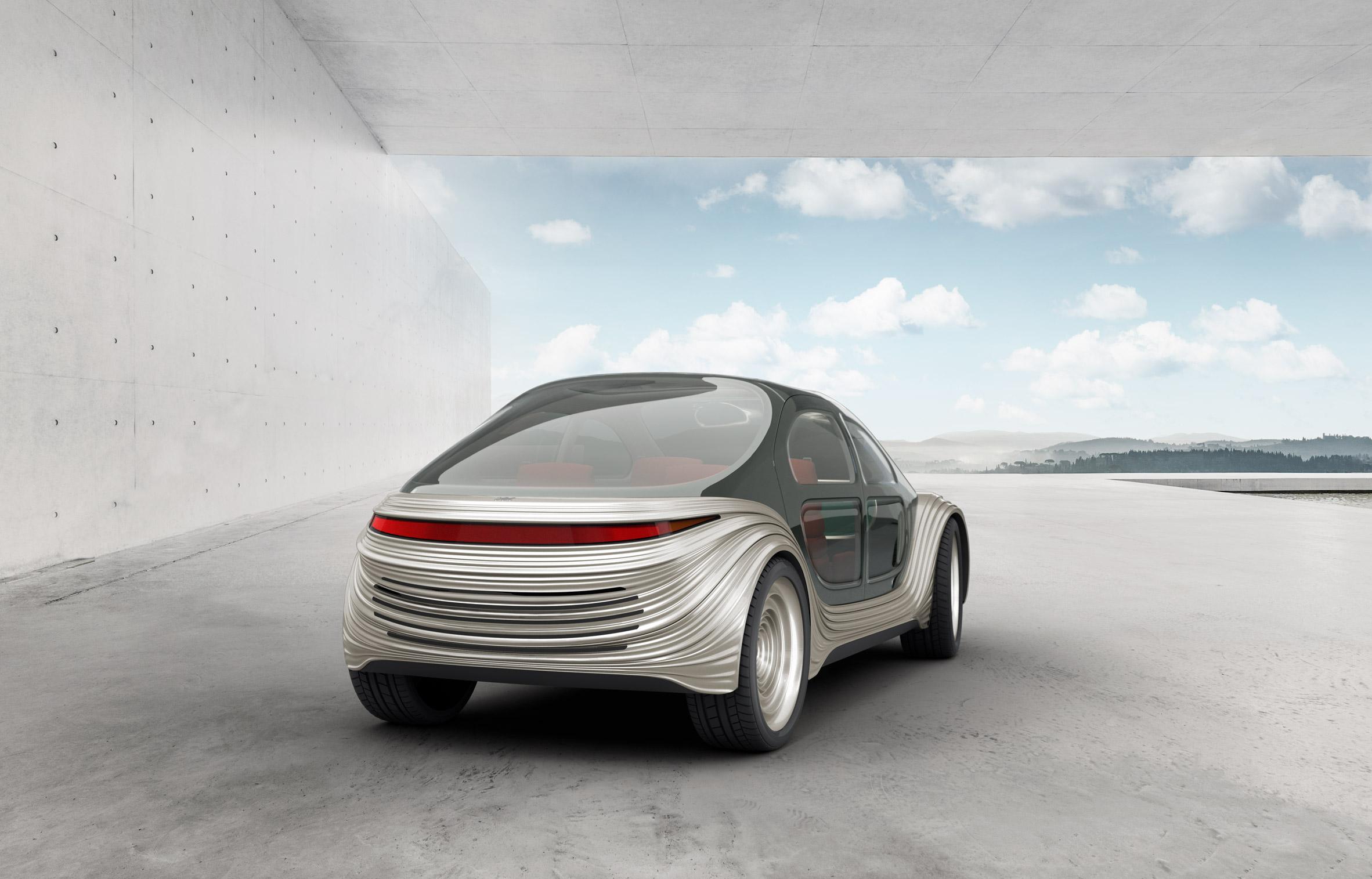 Airo — это электромобиль, который чистит воздух