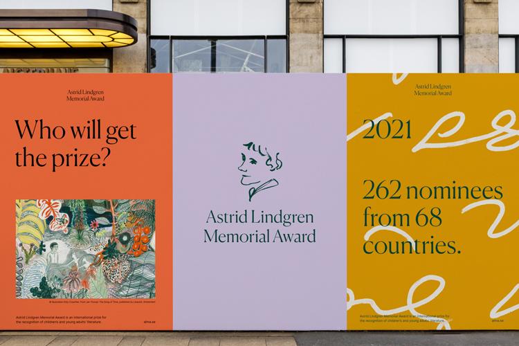 Новый фирменный стиль литературной премии Астрид Линдгрен