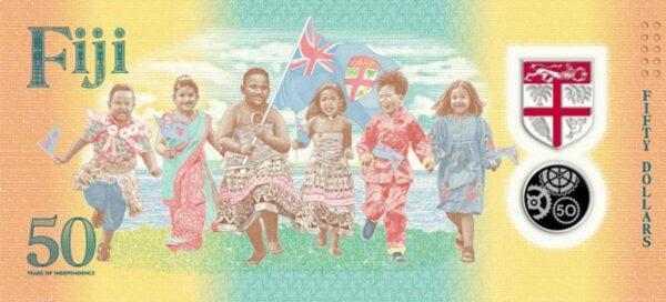 Дизайн банкноты Фиджи