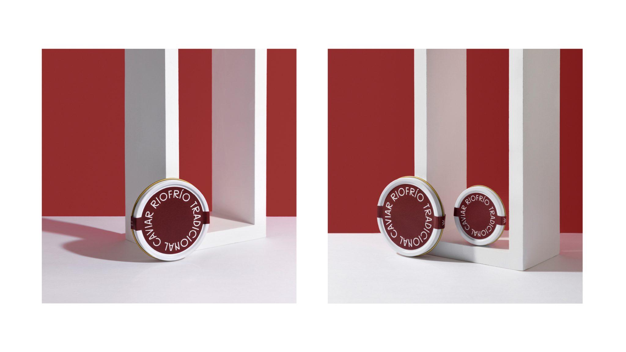 Новый дизайн упаковки икры Риофрио