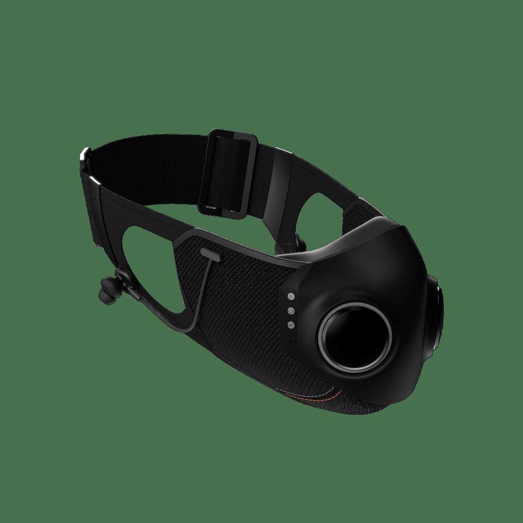 Маска для лица со встроенными наушниками